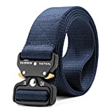 ZORO Men's Nylon Tactical Military Style Webbing Belt with Metal Buckle