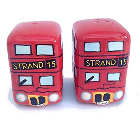 London Bus & Salt Pepper