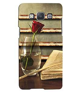 Citydreamz Red Rose\Books\Love\Valentine Hard Polycarbonate Designer Back Case Cover For Samsung Galaxy J7