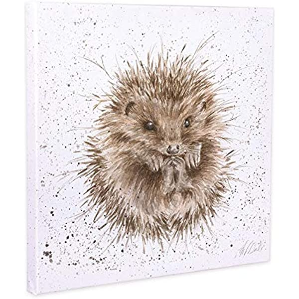 Wrendale Designs /'Born To Be Wild/' Fox Cub Canvas 20cm