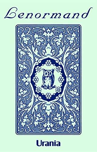 (Blaue Eule: Lenormandkarten mit Kartenabbildungen)