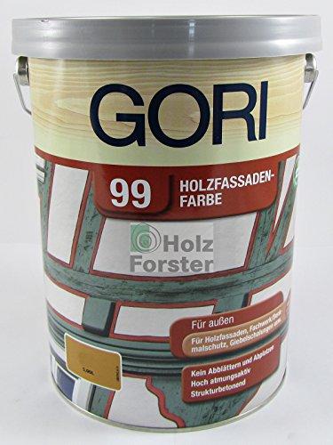 GORI 99 Holzfassaden-Farbe 5 L 5172 Moosgrün Holzfarbe