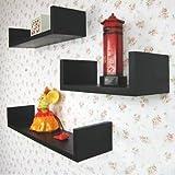 3 er Set Design Wandregal Bücher CD Regal Cube in