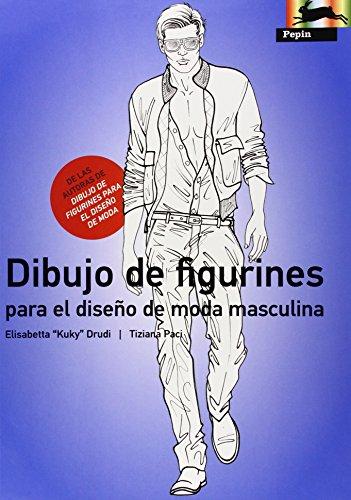 DIBUJO DE FIGURINES PARA EL DISE¥O DE MODA MASCULINA