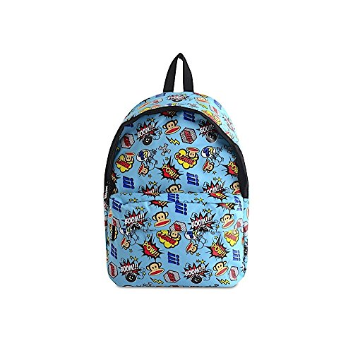 paul-frank-julius-monkey-school-backpack-rucksack-bag-skull-crossbones-blue
