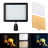 Andoer 12W 1280LM Dimmerabile 160 LED Panel Lampada per Canon Nikon Pentax DSLR Video Camcorder immagine