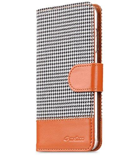 Apple iPhone 6S / 6 Melkco Holmes Serie Abdeckung Typ Premium-Leder Hand Made Flip Case, Guter Schutz, Schlank, von Premium-Gefühl Tabak / Braun 8