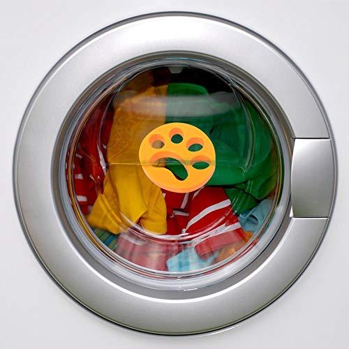 Sunflowerany 2PCS Reinigung Ball Waschmaschine Pet Haarentfernung für Wäsche -