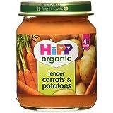 HiPP Organic Tender Carrots & Potatoes 4+ Months 125g
