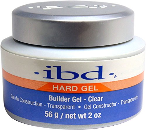 IBD Builder Gel Vernis à Ongles Traitement Clear 56 g