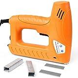 Elettrica Graffatrice Manuale Inclusi 400 Graffette: lunghe da 8 fino a 16 mm e 100 chiodi: lunghi da 15 fino a 16 mm | Pneumatica, Professionale Chiodatrice