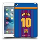 Head Case Designs Offizielle FC Barcelona Messi 2017/18 Spieler Home Kit Gruppe 1 Soft Gel Hülle für iPad Mini 4
