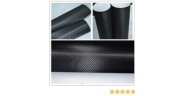 3D CARBON FIBRE VINYL WRAP A5 Sample Sheet All Manufacturers and Exterior Dec