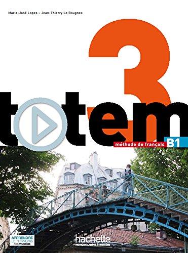 Totem: Livre de l'eleve B1 + DVD-Rom + manuel numerique simple par Jean-Jacques Sempe