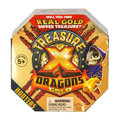 Treasure X 41507 Drachen Goldjäger Einzelpack, Mehrfarbig