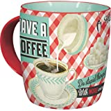Nostalgic-Art 43004 Say it 50's Have A Coffee, Tasse