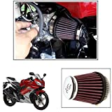 Vheelocityin K&N RC 1060 Air Filter Universal for All Bikes For Yamaha Yzf R15 Ver 2-0
