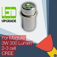 Maglite Ampoule LED Conversion/mise à niveau pour Maglite Lampe torche/lampe torche cellules 2D/3D/2C/3C CREE XP-G2CNC