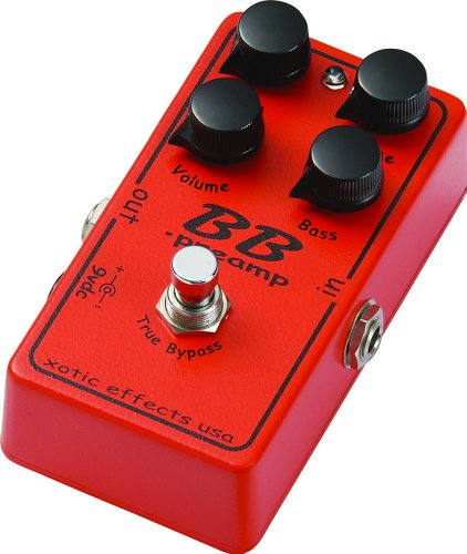 XOTIC BB PREAMP DISTORTION SUSTAIN PEDAL (JAPAN IMPORT)