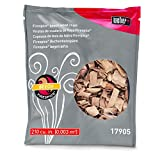 Weber Barbecue Wood Smoking Chips Fire Spice Barbecue Chips Beech, Brown, 7by 3-1/2x 12Inch, 17622