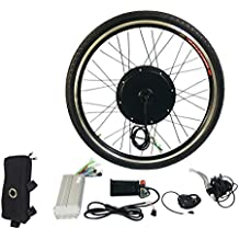 Kit de conversión de bicicleta eléctrica E de 1000 W Kit de herramienta de aleación de aluminio de 26