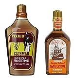 Pinaud Clubman Spezial Reserve und Bay Rum After Shave Lotion Doppelpack 2 x 177 ml Spritzer Flaschen