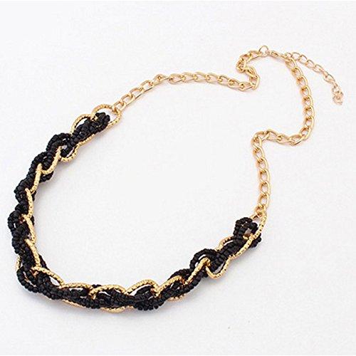 Mebare(TM) 2016 Hot pendenti delle collane delle donne Dichiarazione di nozze Boemia dell'annata della collana Bead Choker collana di perline regalo del partito per il pendente