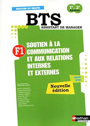 Finalité 1 - Soutien à la communication et aux relations internes et externes par Brigitte Besancon