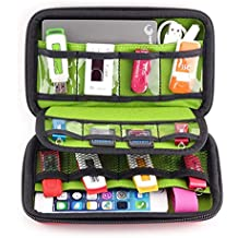 MystiTL Tragbare Festplatte Kabel und sonstiges Zubehör für Electronisches Zubehöre Organizer Case Tasche Psp Spiel Taschen Tragetasche Wasserdicht für USB Drive Shuttel