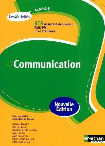 ACTIVITE 8 COMMUNICATION BTS