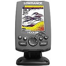Lowrance Hook-3x Fischfinder mit 83/200 kHz Geber
