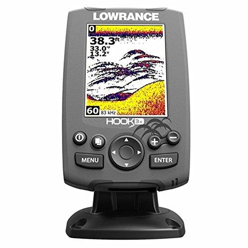Lowrance Fischfinder Hook-3x