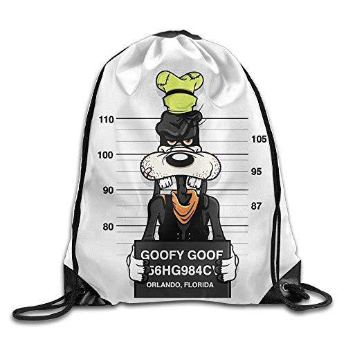 Goofy Funny Poster Design Art Cool Humor Gym Bag Drawstring Backpack Sports