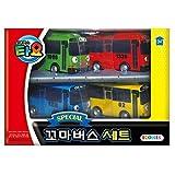Tayo The Little Bus Special 4Pcs Mini Car Set : Korean Gemacht TV Zeichentrick-Spielzeug (Tayo + Rogi + Gani + Rani)