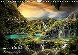 Zwielicht - Fantasylandschaften (Wandkalender 2019 DIN A4 quer): Fantasy - Landschaften in geheimnisvollem Licht (Monats