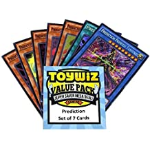 Amazon toywiz toywiz yu gi oh dragons of legend 2 set of 7 prediction cards drl2 voltagebd Choice Image