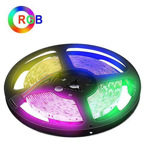 (Weihnachten RGB LED Lichtleiste,5M LED Streifen, DC24V 300 SMD5050 LEDs Flexible LED Strip Light für Küchenschrank Schlafzimmer Startseite Dekorative Beleuchtung Innenraum [Energieklasse A++])