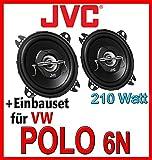 VW Polo 6N - JVC CS-J420 - 10cm Koax-System Lautsprecher - Einbauset