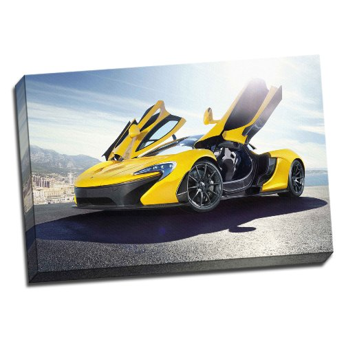 large-mclaren-p1-framed-canvas-picture-wall-art-print-20x30-inches-a1