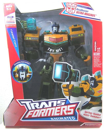 TRANSFORMERS ANIMATED - LEADER CLASS - ROADBUSTER ULTRA MAGNUS