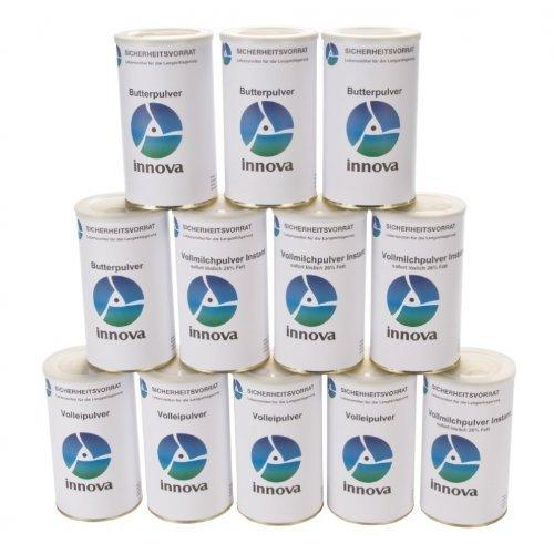 Langzeitlebensmittel als Notvorrat und Krisenvorsorge Grundnahrungsmittel - Paket 1 ALL NATURAL