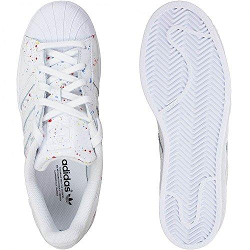 Adidas Originals Damen Sneaker Superstar weiß Weiß