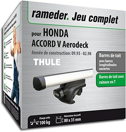 Rameder Pack Barres de Toit ProBar pour Honda Accord V Aerodeck (115511-01272-43-FR)