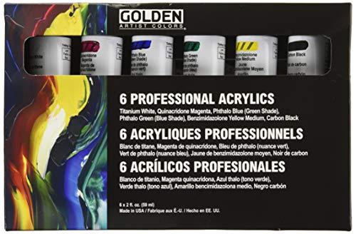Goldene Haupt Heavy Body Acryl 2OZ Set / 6