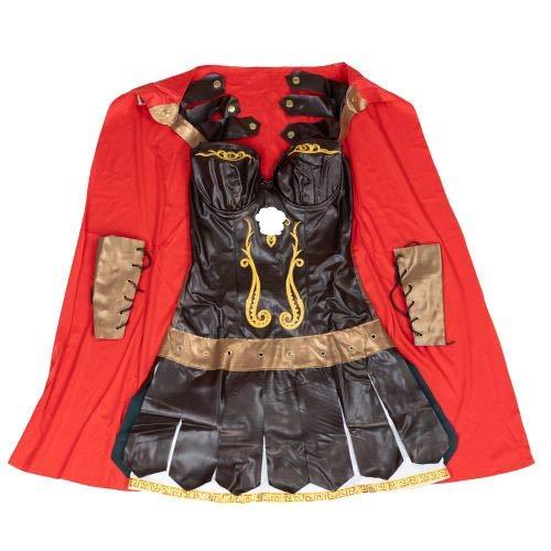 Bodysocks® Römisches Gladiator Kostüm für Damen (Römische Outfit Gladiator)