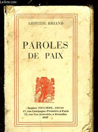 PAROLES DE PAIX