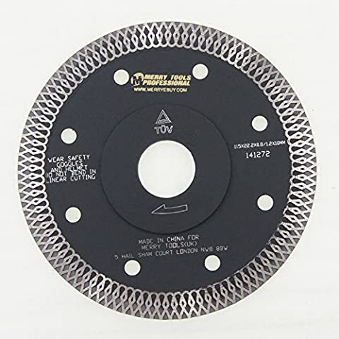 141272 Wet Dry Diamond Fast Cutting Blade Wheel Marble Granite Ceramic 115mm
