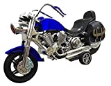 #5: Harley Davidson Model Bike by Sceva, A Detailed Model Toy to Play Or Showcase with.. Best to Gift to Kids as Well as Adults