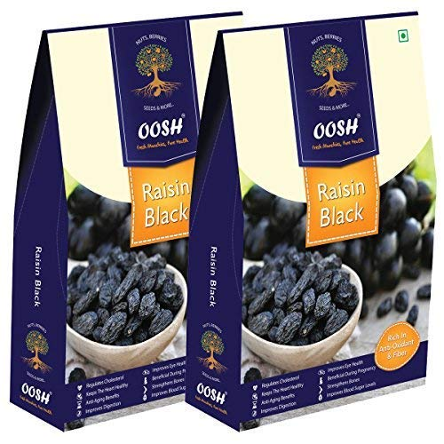 6. OOSH Seedless Black Raisin