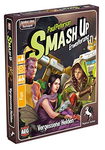 Pegasus Spiele 17269G - Smash Up Vergessene Helden